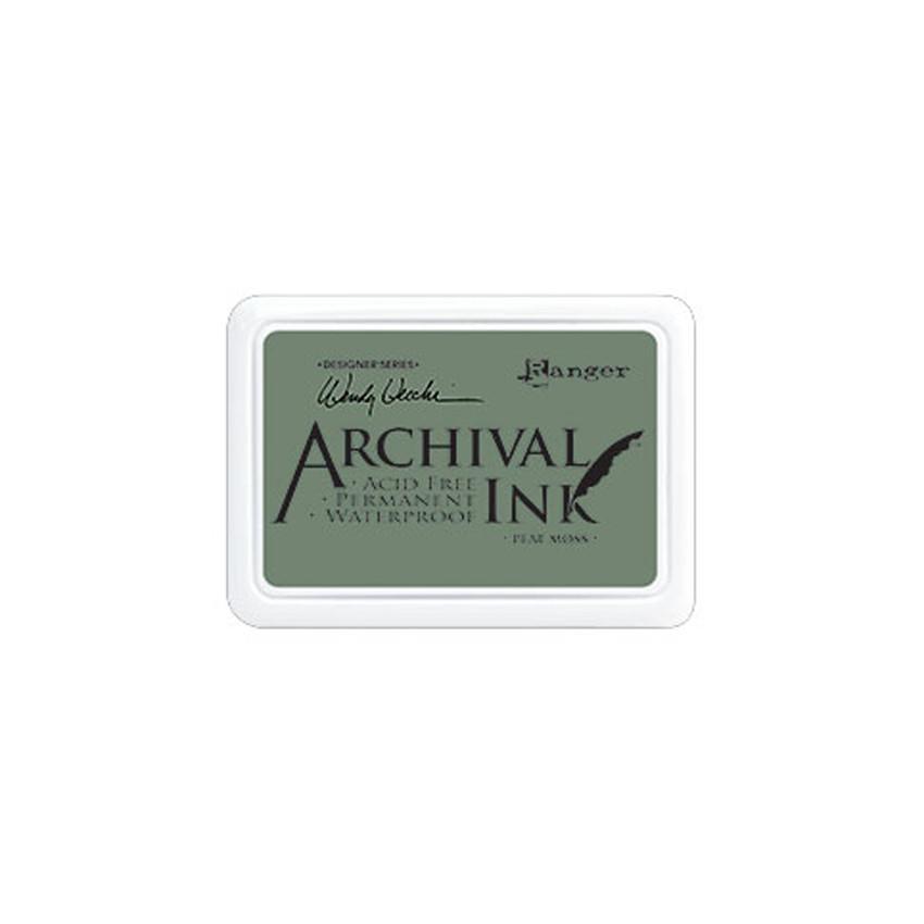 Encre Archival PEAT MOSS par Ranger. Scrapbooking et loisirs créatifs. Livraison rapide et cadeau dans chaque commande.