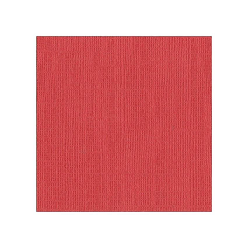 Papier uni 30,5 x 30,5 cm Bazzill FLAMINGO par Bazzill Basics Paper. Scrapbooking et loisirs créatifs. Livraison rapide et ca...