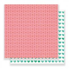 Papier imprimé Flourish POPPY par Crate Paper. Scrapbooking et loisirs créatifs. Livraison rapide et cadeau dans chaque comma...