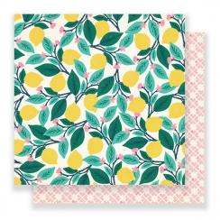 Papier imprimé Flourish PONDEROSA par Crate Paper. Scrapbooking et loisirs créatifs. Livraison rapide et cadeau dans chaque c...