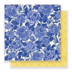 Papier imprimé Flourish POETIC par Crate Paper. Scrapbooking et loisirs créatifs. Livraison rapide et cadeau dans chaque comm...