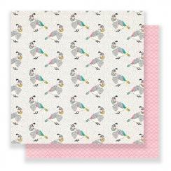 PROMO de -30% sur Papier imprimé Flourish SONGBIRD Crate Paper