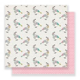 Papier imprimé Flourish SONGBIRD par Crate Paper. Scrapbooking et loisirs créatifs. Livraison rapide et cadeau dans chaque co...