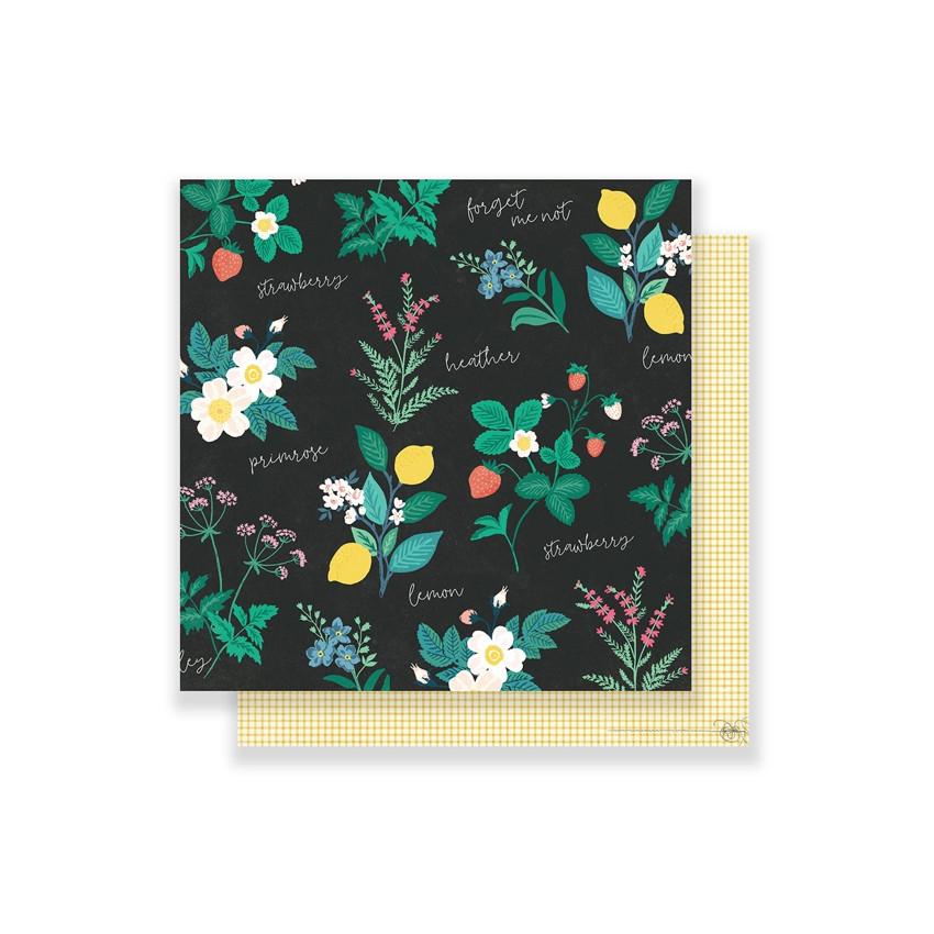 Papier imprimé Flourish GREENHOUSE par Crate Paper. Scrapbooking et loisirs créatifs. Livraison rapide et cadeau dans chaque ...