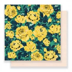 Papier imprimé Flourish GRANDIFLORA par Crate Paper. Scrapbooking et loisirs créatifs. Livraison rapide et cadeau dans chaque...