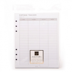 Pages pour planner Moment Maker LIFESTYLE TRACKER