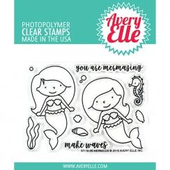 PROMO de -99.99% sur Tampons clear MERMAIDS Avery Elle