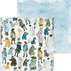 Papier imprimé Winter Playground CHILDREN