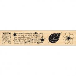 Tampon bois NATURE GRUNGE