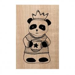Tampon bois MR PANDA