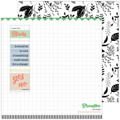 PROMO de -50% sur Papier imprimé A Case of the Blahs CHAOS Pinkfresh Studio