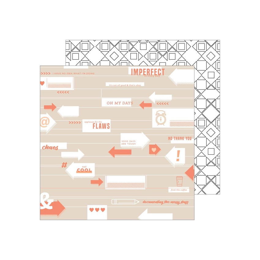 PROMO de -50% sur Papier imprimé A Case of the Blahs IMPERFECT Pinkfresh Studio