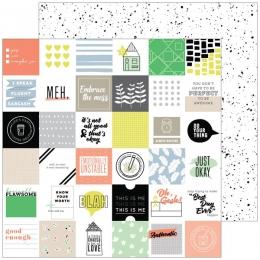 Papier imprimé A Case of the Blahs MESSY par Pinkfresh Studio. Scrapbooking et loisirs créatifs. Livraison rapide et cadeau d...