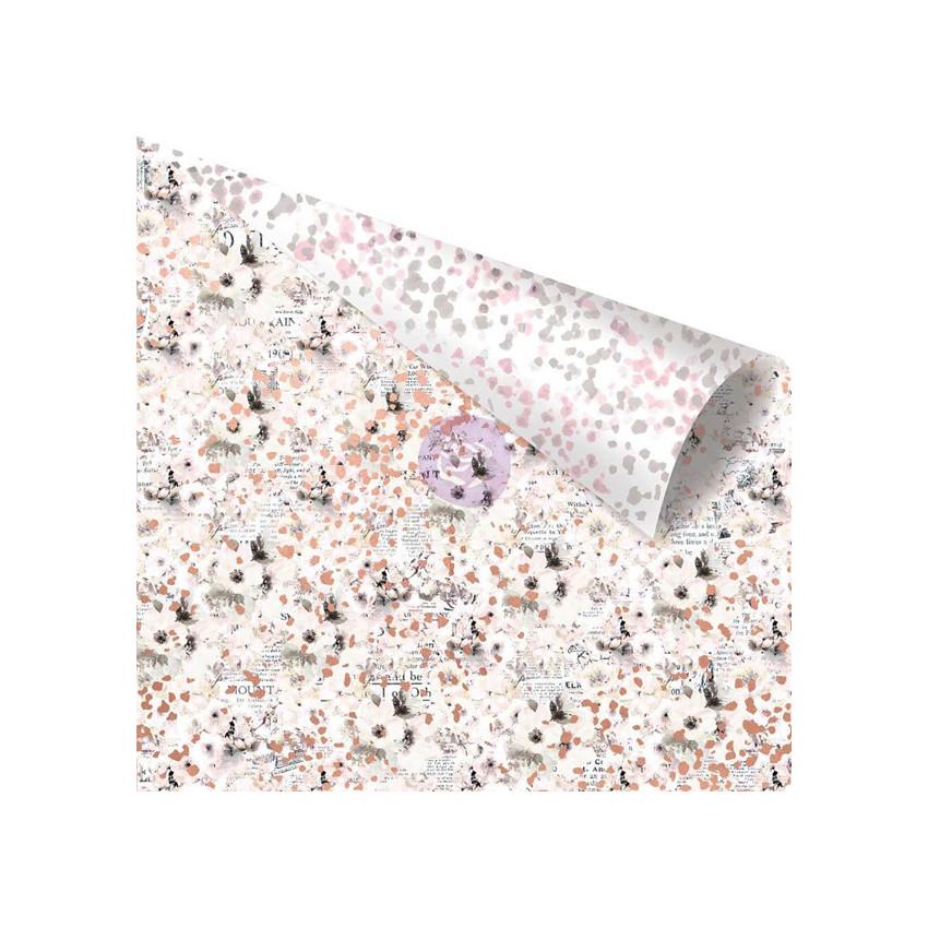 Papier imprimé Cherry Blossom UNWRITTEN MESSAGES par Prima Marketing. Scrapbooking et loisirs créatifs. Livraison rapide et c...