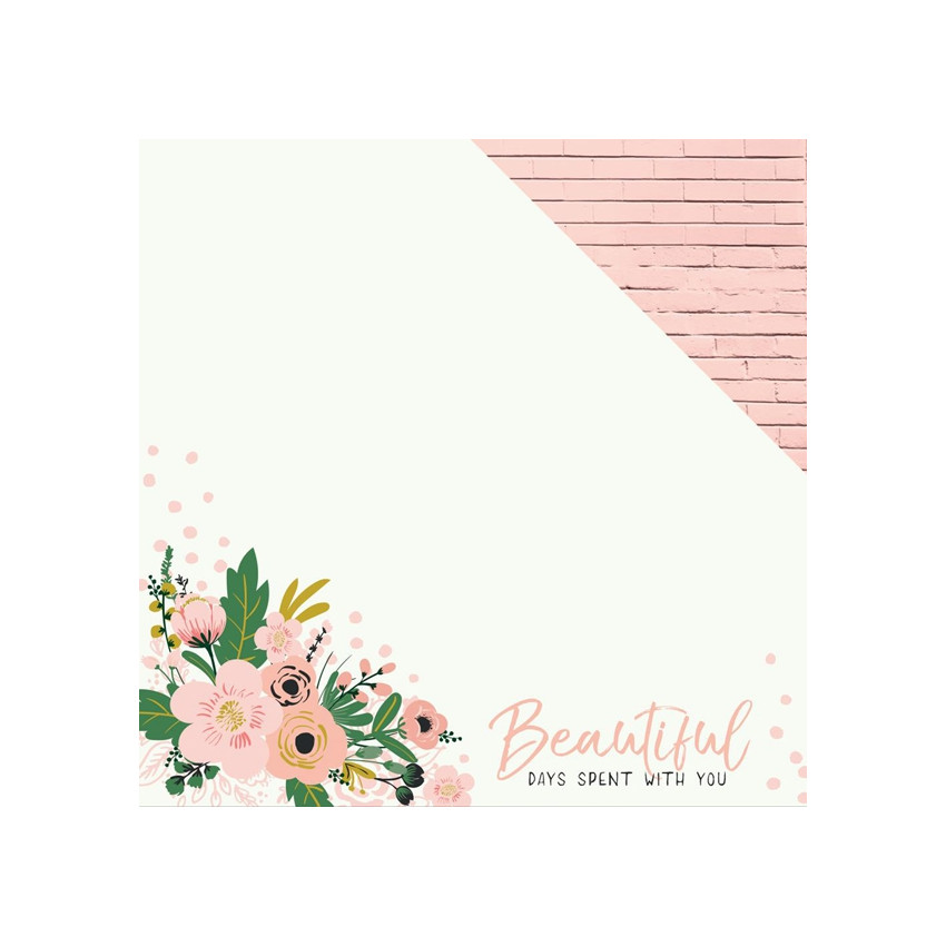 PROMO de -50% sur Papier imprimé Fleur SO AMAZING Kaisercraft
