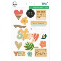 Stickers bois LET YOUR HEART DECIDE