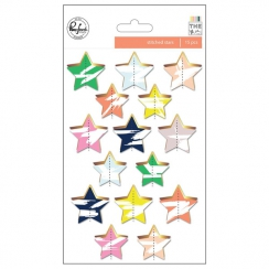 PROMO de -40% sur Die cuts gold stars THE MIX NO.2 Pinkfresh Studio