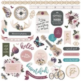 Stickers GYPSY ROSE par Photo Play. Scrapbooking et loisirs créatifs. Livraison rapide et cadeau dans chaque commande.