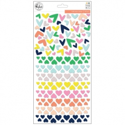 Stickers puffy heart THE MIX NO.2