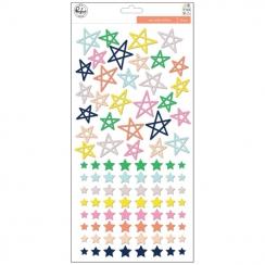 Stickers puffy stars THE MIX NO.2