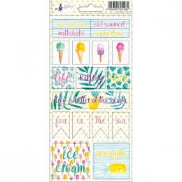 Stickers SUMMERTIME 02 par Piatek Trzynastego. Scrapbooking et loisirs créatifs. Livraison rapide et cadeau dans chaque comma...