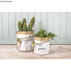 PROMO de -30% sur Lot de 2 petits sacs en papier à customiser Rayher