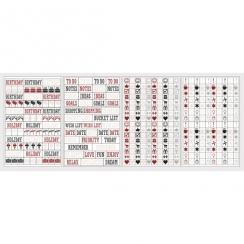 Stickers pour planner SYMBOLES