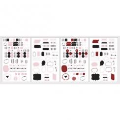 Stickers pour planner MOT ET ICÔNES