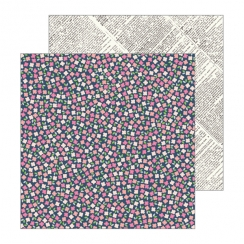 PROMO de -30% sur Papier imprimé Patio Party SCATTERED POSIES Pebbles