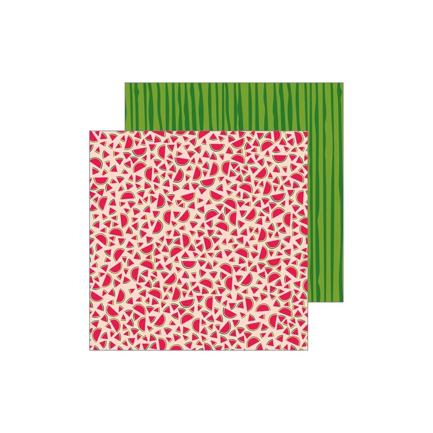 PROMO de -30% sur Papier imprimé Patio Party SLICES Pebbles