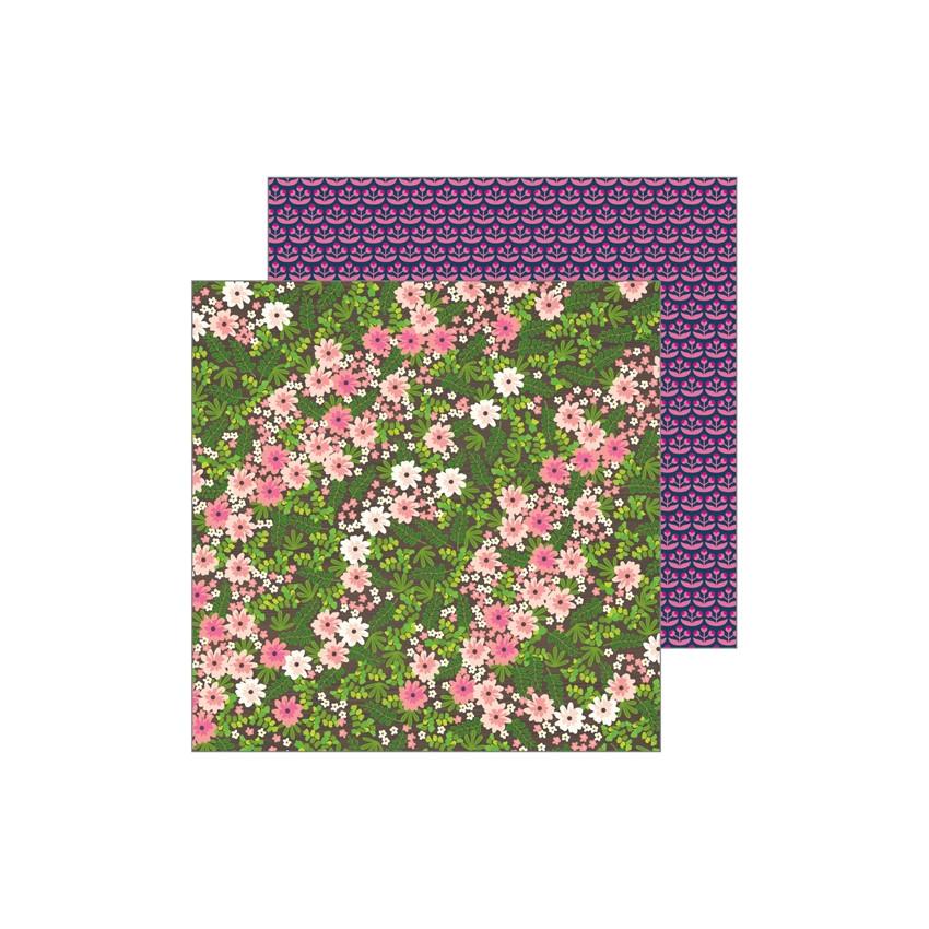 Papier imprimé Patio Party WANDERING WILDFLOWERS par Pebbles. Scrapbooking et loisirs créatifs. Livraison rapide et cadeau da...