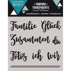 PROMO de -99.99% sur Tampons clear allemand KLEINE WORTE 1 Florilèges Design