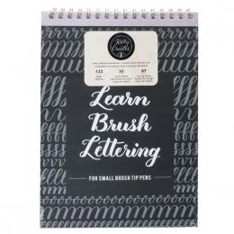 Cahier d'exercices pour lettering spécial feutres fins KELLY CREATES par American Crafts. Scrapbooking et loisirs créatifs. L...