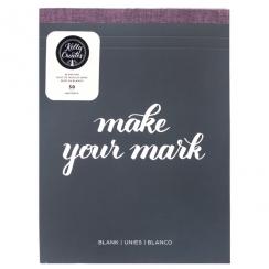 Bloc de papier blanc pour lettering Kelly Creates BLANK PAD par American Crafts. Scrapbooking et loisirs créatifs. Livraison ...