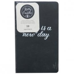 Insert cahier pour lettering Kelly Creates pages noires BLACK par American Crafts. Scrapbooking et loisirs créatifs. Livraiso...