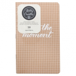 Insert carnet pour lettering Kelly Creates pages quadrillées GRID