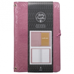 PROMO de -99.99% sur Carnet pour lettering Kelly Creates PURPLE American Crafts