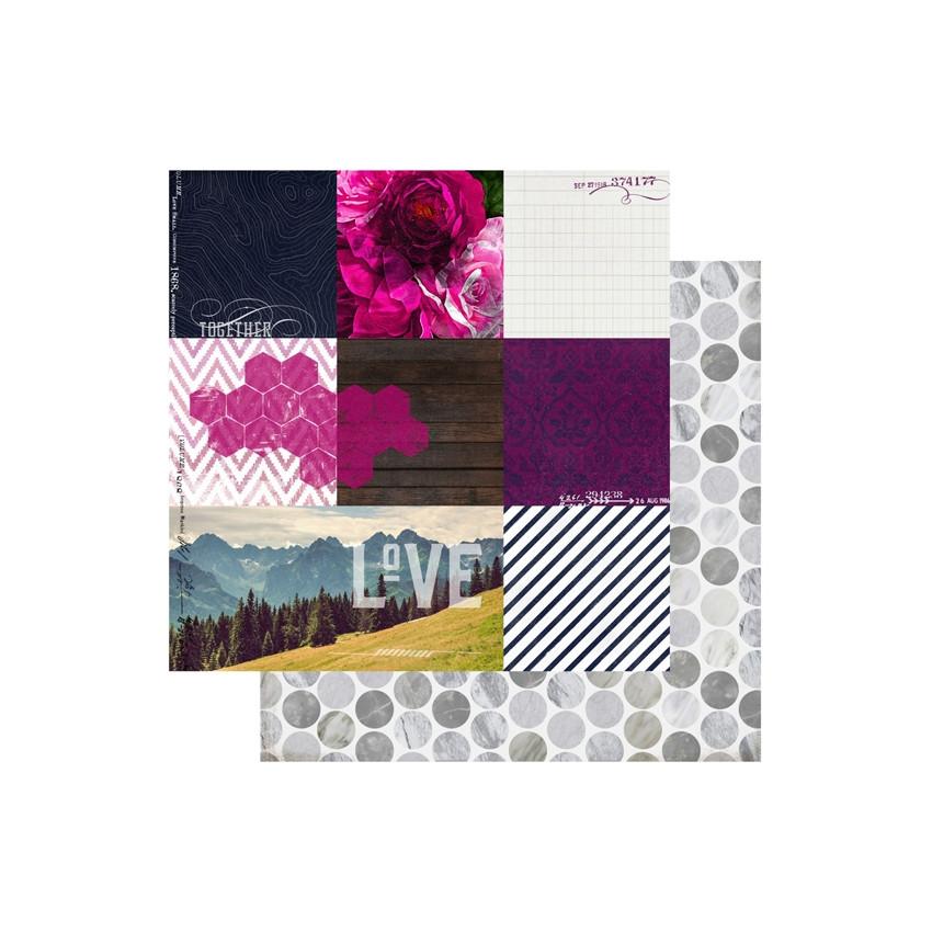 Papier imprimé Hawthorne 9th and 9th par Heidi Swapp. Scrapbooking et loisirs créatifs. Livraison rapide et cadeau dans chaqu...