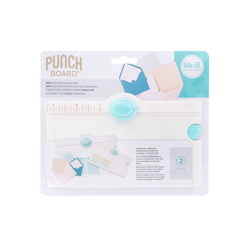 Punch Board We R Memory Keepers MINI ENVELOPE PUNCH BOARD par We R Memory Keepers. Scrapbooking et loisirs créatifs. Livraiso...