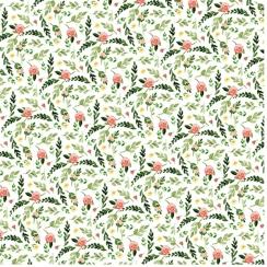 Papier imprimé Spring Market FARM FLORAL par Carta Bella. Scrapbooking et loisirs créatifs. Livraison rapide et cadeau dans c...