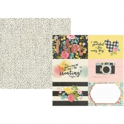 PROMO de -30% sur Papier imprimé I Am 4X6 HORIZONTAL ELEMENTS Simple Stories