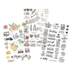 Stickers transparents I AM