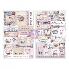 Stickers Lavender WORD/QUOTE