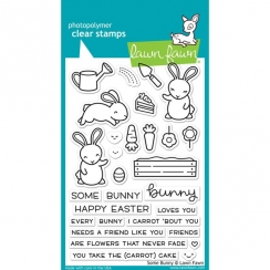 PROMO de -40% sur Tampons clear SOME BUNNY Lawn Fawn