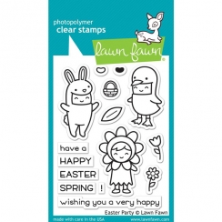 PROMO de -99.99% sur Tampons clear EASTER PARTY Lawn Fawn