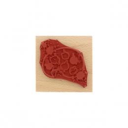 Tampon bois PALETTE DE COULEURS par Florilèges Design. Scrapbooking et loisirs créatifs. Livraison rapide et cadeau dans chaq...