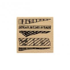 PROMO de -60% sur Tampon bois ART TAPE Florilèges Design