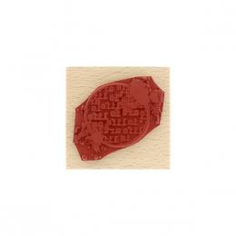 Tampon bois ART IS LIFE