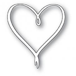 PROMO de -30% sur Outils de découpe RIBBON HEART Poppy Stamps