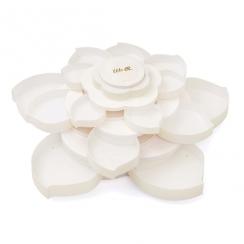 Fleur de rangement embellissements WHITE